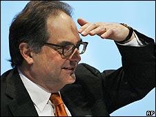 Peter Kurer, UBS chairman designate