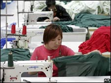 Chinese clothes manufacturer