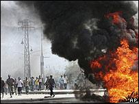 Protestas en Puerto Príncipe, Haití por los precios de los alimentos