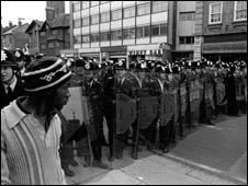 Riot in Lewisham