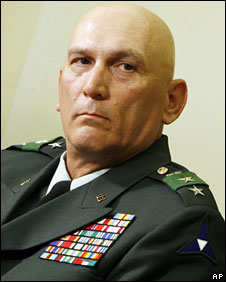 Gen Odierno in the White House, 3 March, 2008