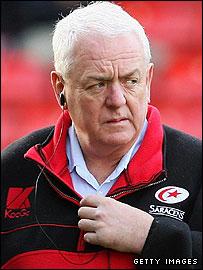 Saracens boss Alan Gaffney