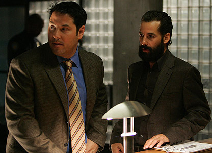 Greg Grunberg as Matt Parkman and Adrian Pasdar as Nathan Petrelli