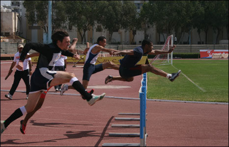 National Track and Field Championships in Agadir, Morocco.