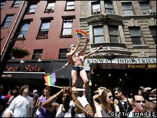 Gay pride march New York City - 24/6/2007