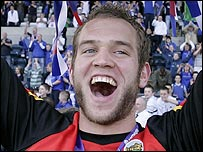 Alan Mannus of Linfield