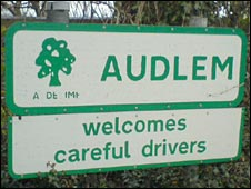 Audlem sign