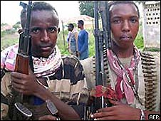 Al Shabab gunmen