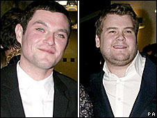 Mathew Horne and James Corden