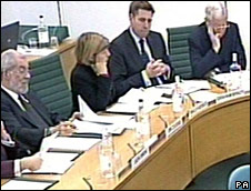 MPs at Treasury Committee meeting