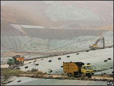 Landfill site. Image: AP