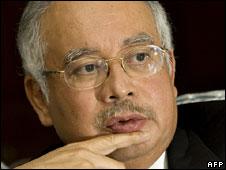 Malaysian Deputy Prime Minister Najib Razak, Jan 08