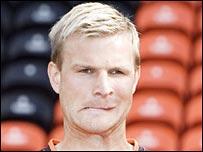 Dundee United defender Christian Kalvenes