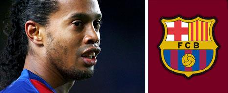 Barcelona playmaker Ronaldinho