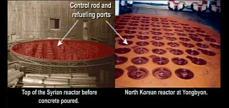 US government image said to be of North Korean and Syrian reactors