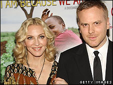 Madonna and director Nathan Rissman