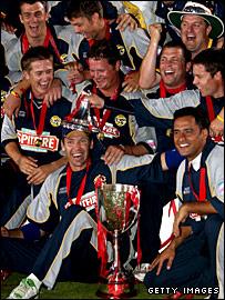 Kent win the 2007 Twenty20 Cup