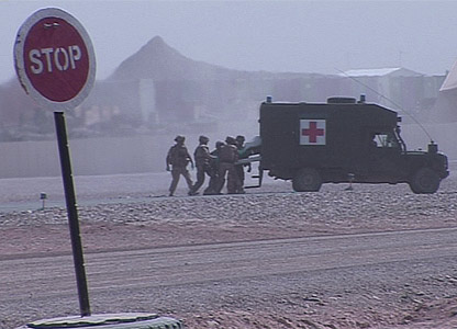 Medical emergency rescue team