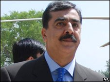 Pakistan PM Gillani