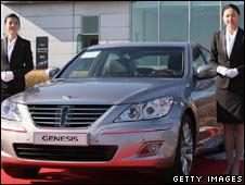 A Hyundai Genesis