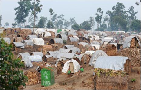 Kusasi IDP camp in DR Congo