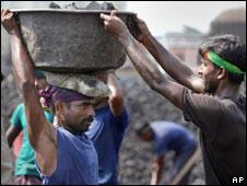 India labourers