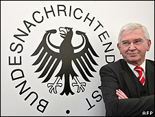 BND chief Ernst Uhrlau