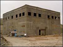 صورة صدرت عن المخابرات الاميركية تصور موقعا سوريا مزعوما لمفعال نووي تحت الانشاء