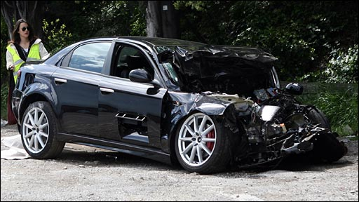 alfa romeo crash