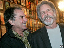 Mickey Hart and Bob Weir