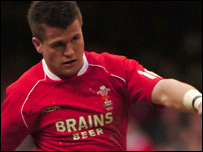Ceri Sweeney has won 35 Wales caps