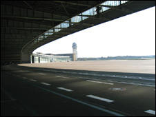 The airfield