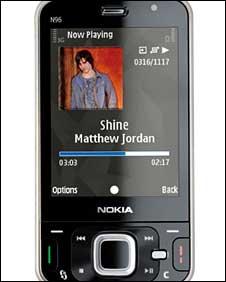 Nokia N96, Nokia