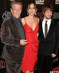 Actor John Hurt, Leonor Watling and Elijah Wood