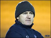 Livingston manager Mark Proctor