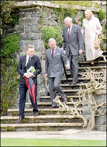 Prince Charles begins his tour  (Neil Jones/PA Wire)