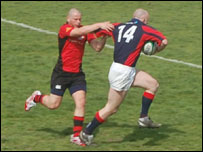 Jersey Rugby Club against Staines