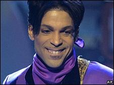 Prince at 2006's BET awards