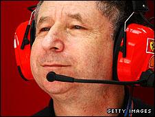 Former Ferrari F1 boss Jean Todt