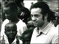 Raphael Rowe in Mongbiylu