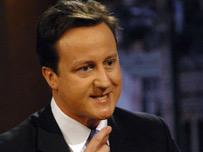 David Cameron MP... Jeff Overs/BBC