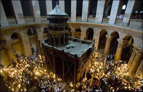 Holy Sepulchre in Jerusalem - 26 April