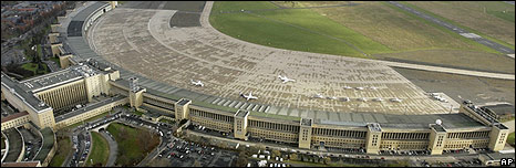 Tempelhof airport, Berlin (file pic)