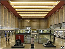Inside Tempelhof airport, Berlin (file pic)