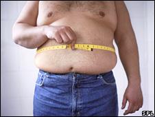 Generic obese man