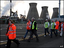 Staff at the Ineos refinery in Grangemouth begin their two-day strike on Sunday