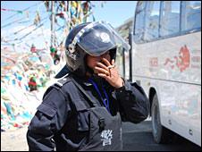 Chinese policeman