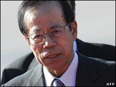 Japan Prime Minister Yasuo Fukuda, file image