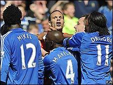 Chelsea & Man Utd in fight probe _44605844_ferdinandpa226