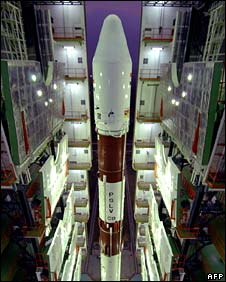 India's Polar Satellite Launch Vehicle, which carried the satellites